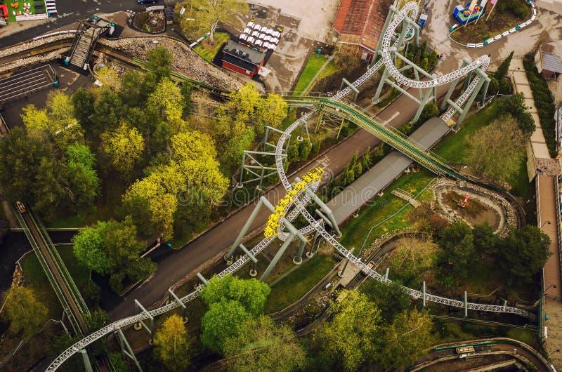 Vue de tour de Nasinneula de Tampere Finlande images libres de droits