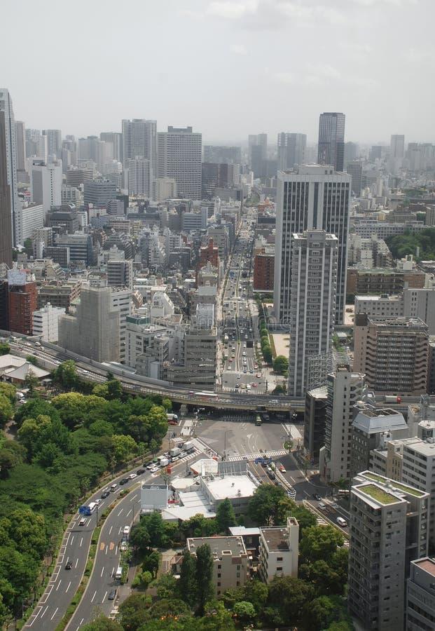 vue de tour de Tokyo photographie stock libre de droits