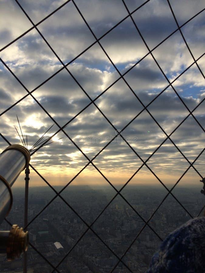 Vue de Tour Eiffel photos stock