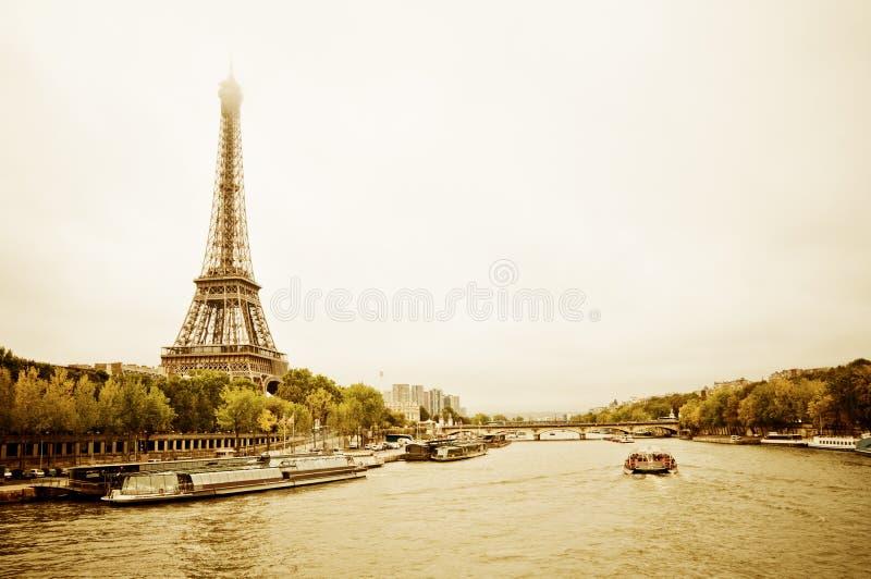 Vue de Tour Eiffel. Paris image libre de droits