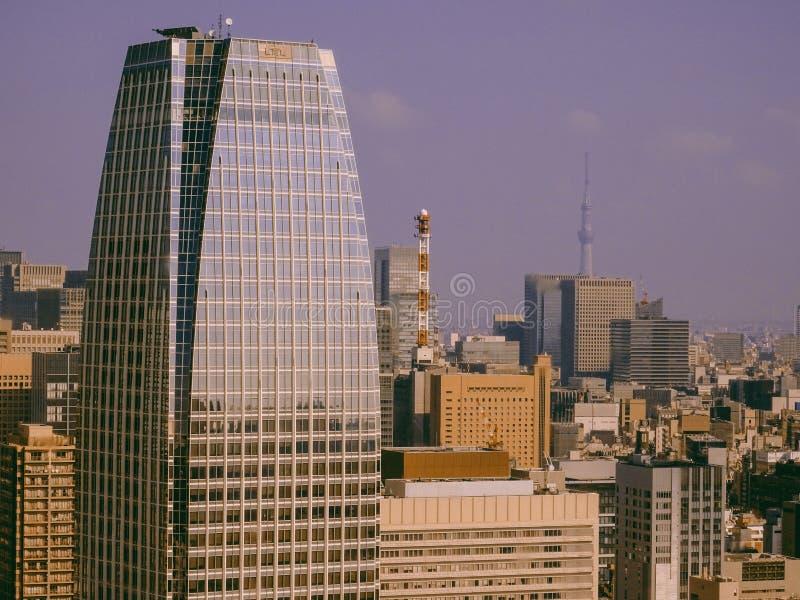 vue de tour de Tokyo image stock