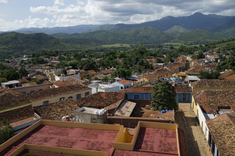 Vue de Trinidad de Cuba photo libre de droits
