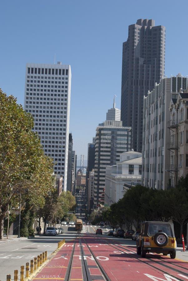 vue de triomphe de l'arc d Gratte-ciel de San Francisco Architecture moderne photo libre de droits