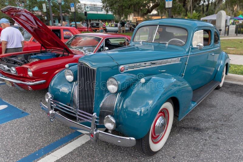 Vue de trois quarts de Packard 1940 photo libre de droits
