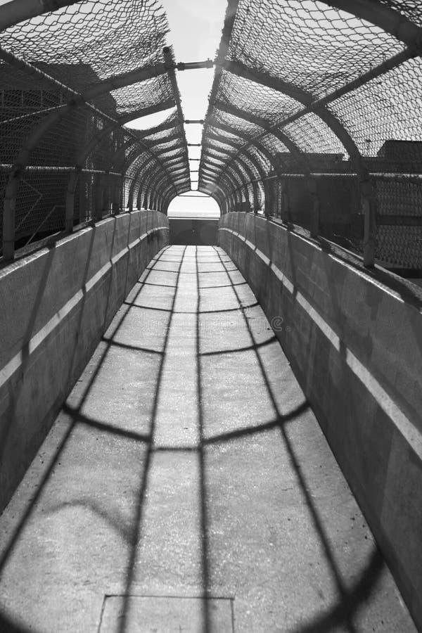 Vue de tunnel photographie stock