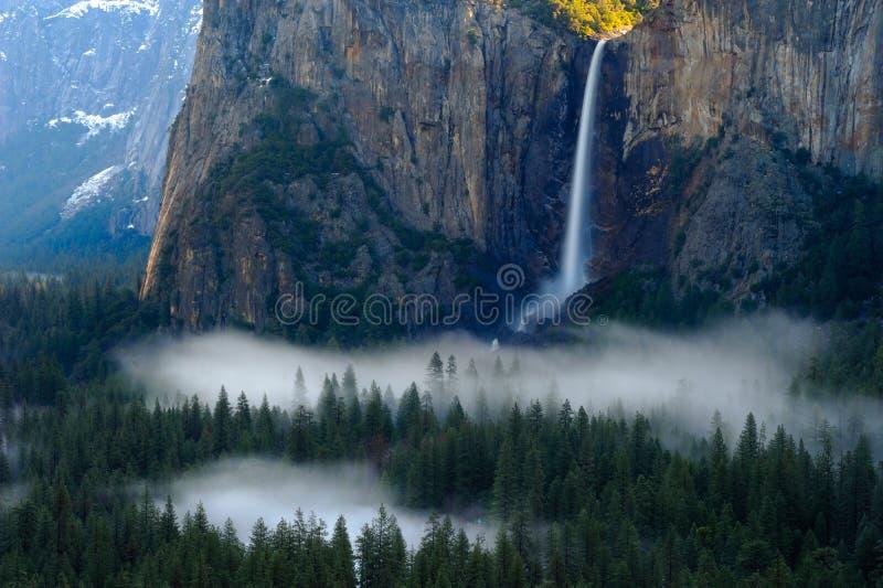 Vue de tunnel de Yosemite photos libres de droits