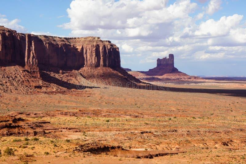 Vue de vallée de monument photo stock