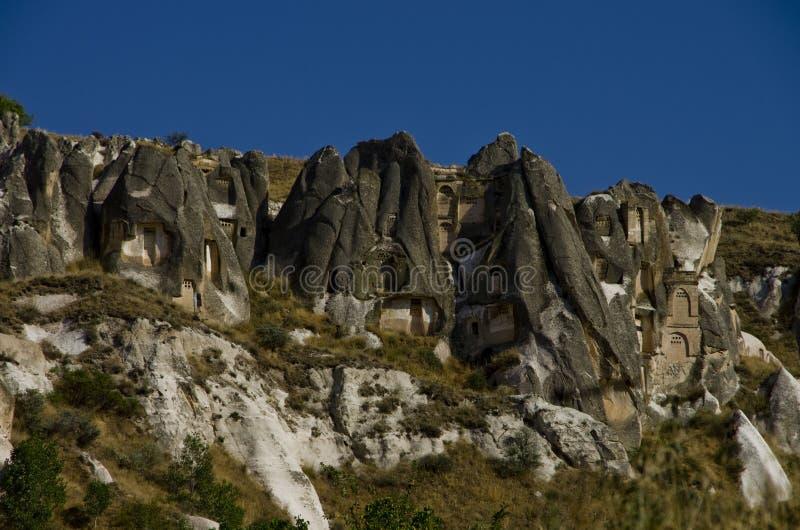 Vue de vallée du sud de Cappadocia photos libres de droits