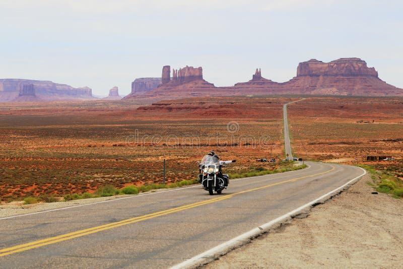 Vue de vallée de monument en Utah photo stock