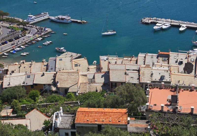 vue de venere de l'Italie Porto photo libre de droits