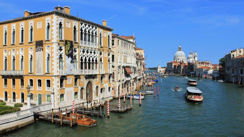 Vue de Venise avec le canal grand photos libres de droits