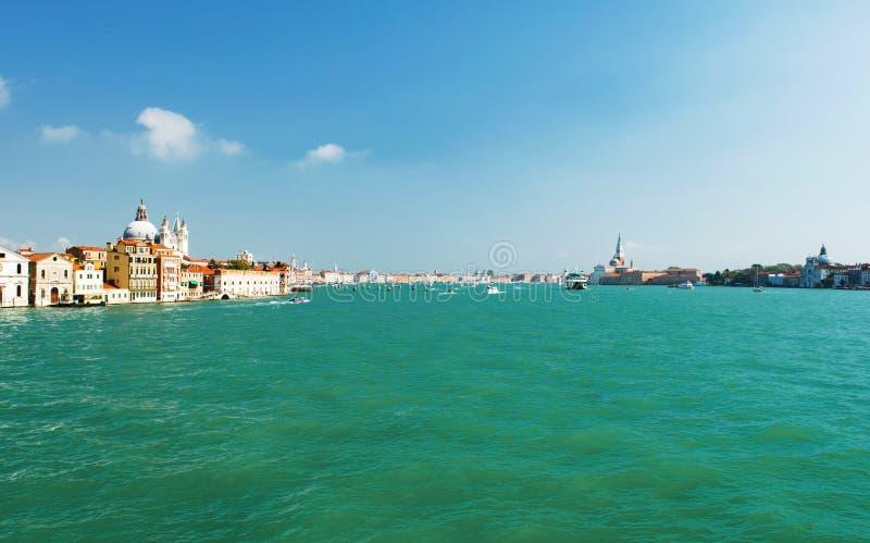 Vue de Venise, Italie depuis le canal de Judeca image stock