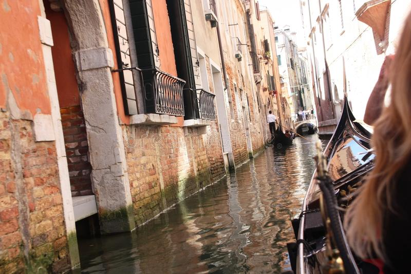 Vue de Venise de la Manche Italie photo libre de droits