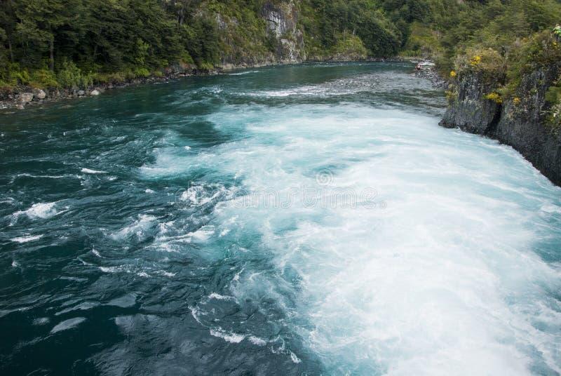 Vue de Vicente Perez Rosales National Park - le Chili photo libre de droits