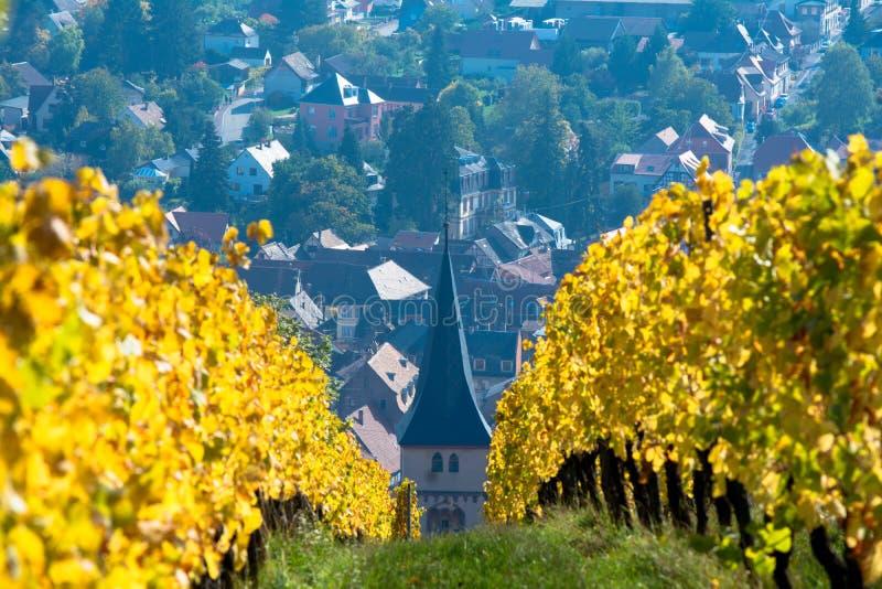 Vue de village photographie stock