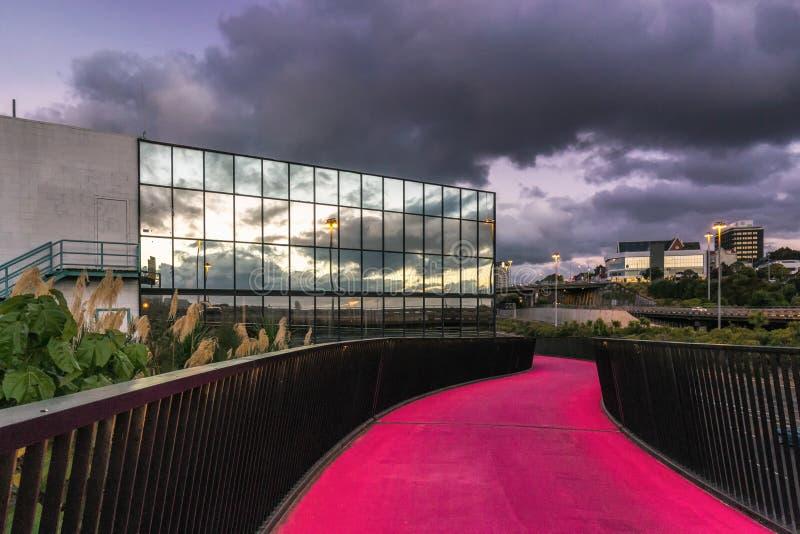 Vue de ville d'Auckland photo stock