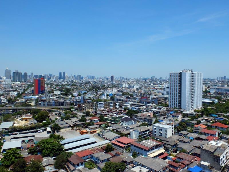 Vue de ville de Bangkok images libres de droits
