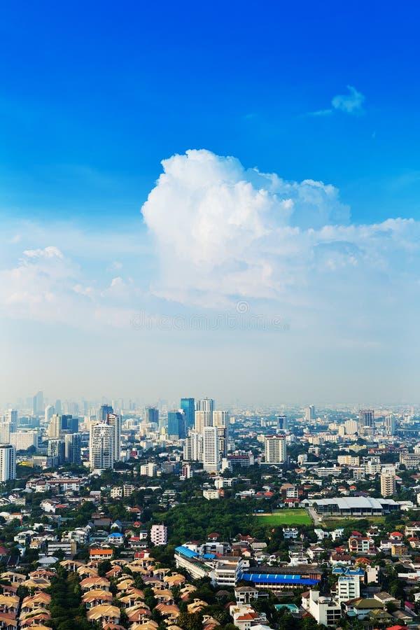 Vue de ville de Bangkok photographie stock libre de droits