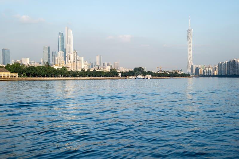 Vue de ville de Guangzhou image stock