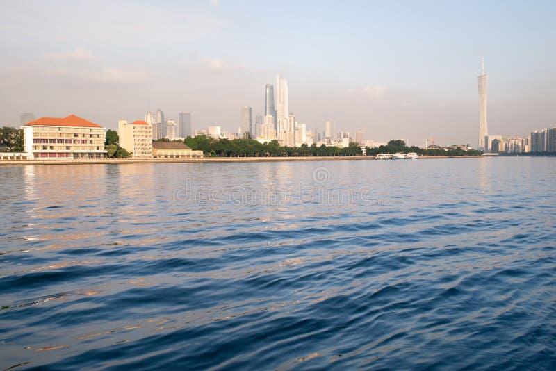 Vue de ville de Guangzhou images libres de droits