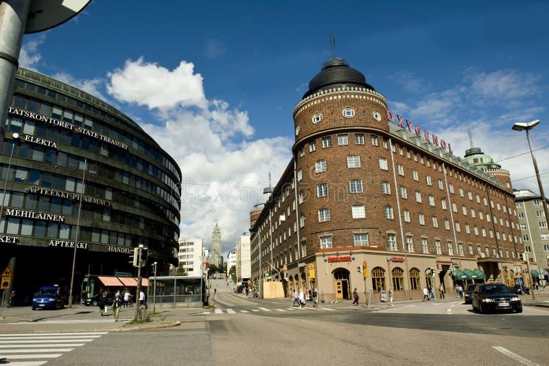Vue de ville de Helsinki images stock