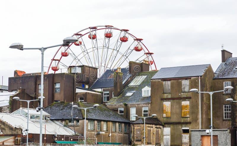 Vue de ville de liège photos libres de droits