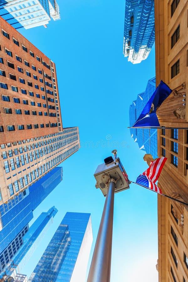 Vue de ville de Manhattan, NYC photo libre de droits