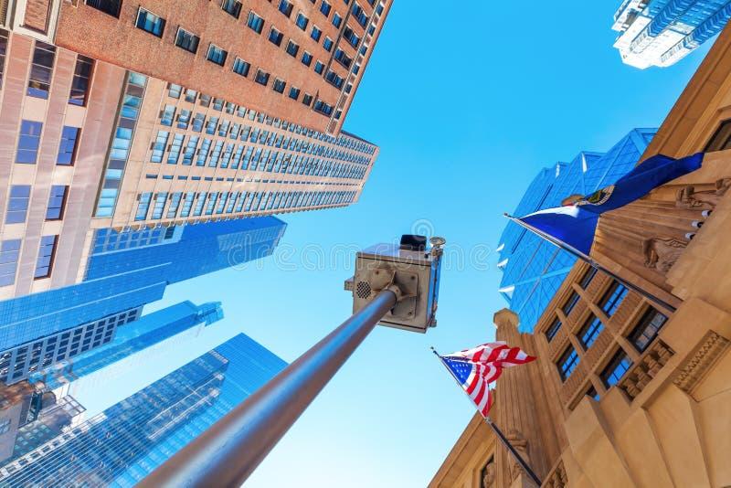 Vue de ville de Manhattan, NYC photo stock