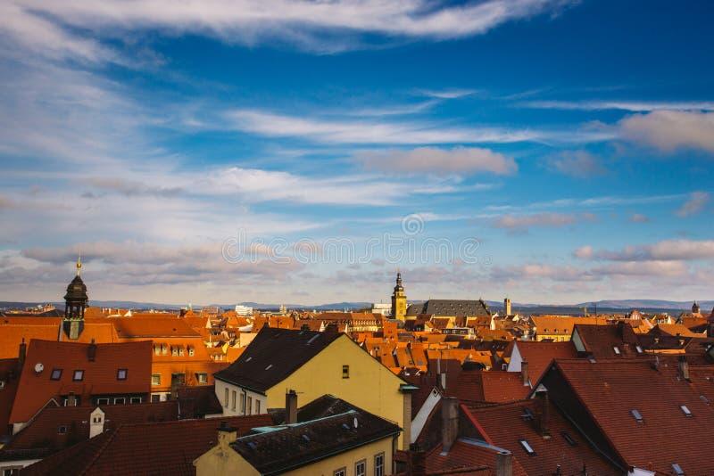 Vue de ville de Nuremberg, une ville dans Franconia dans l'état allemand de la Bavière image libre de droits
