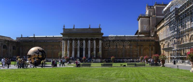 Vue de Ville du Vatican image stock