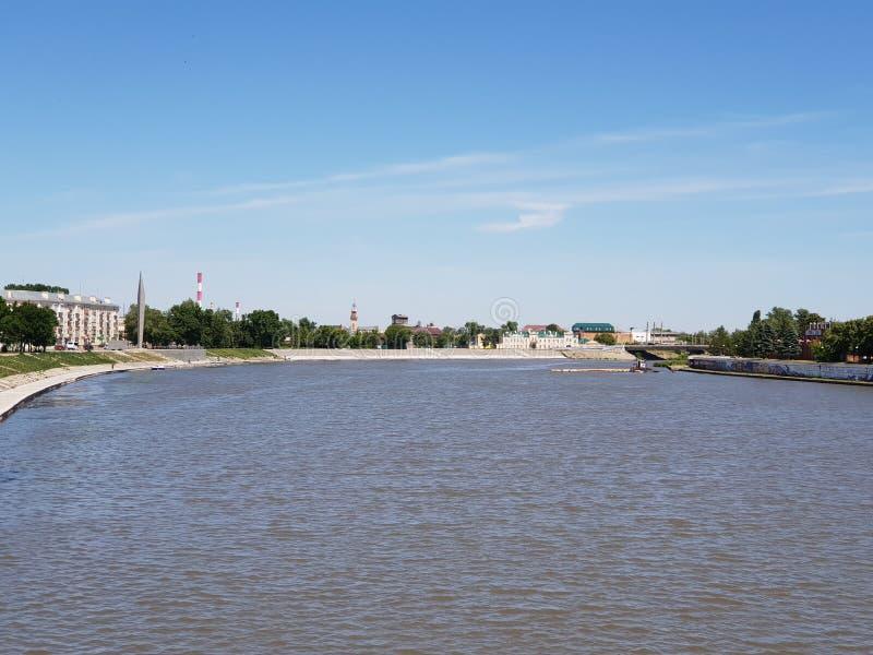 Vue de ville de Penza, Russie images libres de droits