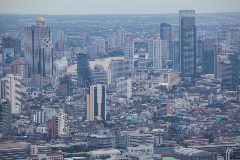 Download Vue De Ville Thaïlande De Bangkok Image stock - Image du bureau, métropole: 45365477