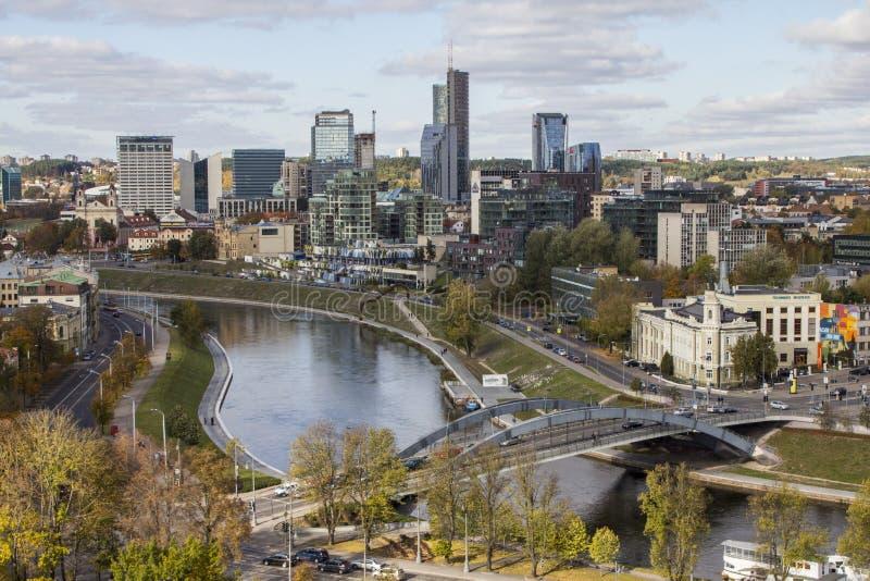 Vue de Vilnius du clou lithuania photographie stock libre de droits