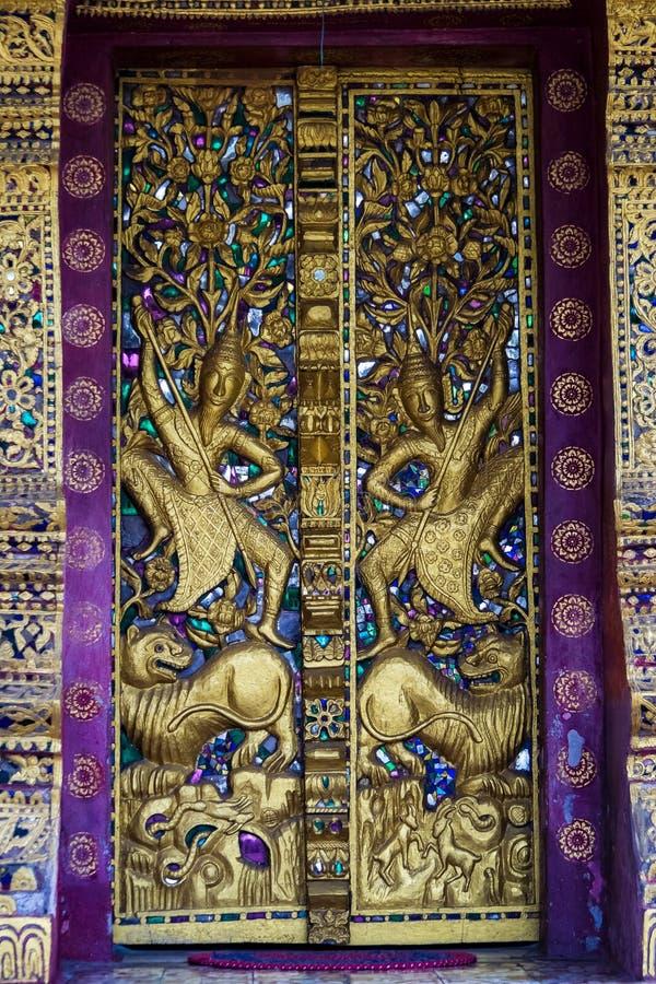 Vue de wat Phaphay dans Luang Prabang, Laos photos libres de droits