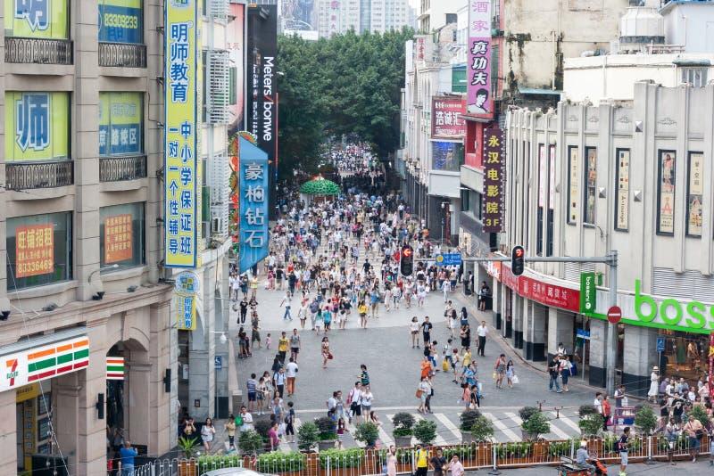 Vue de week-end de route de Pékin image libre de droits