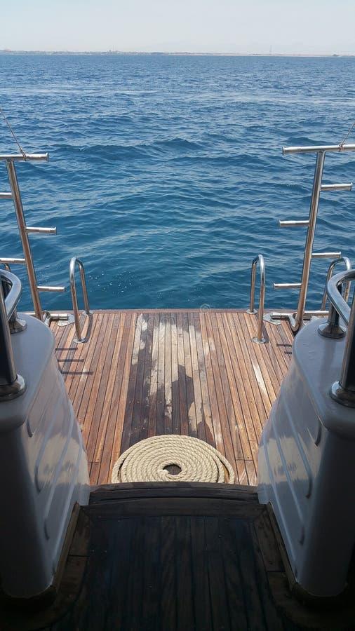Vue de yacht photos stock