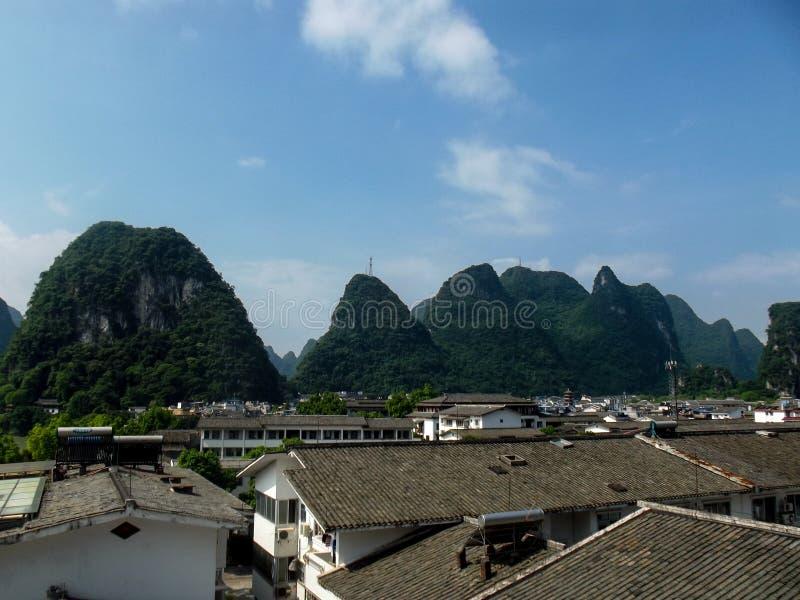 Vue de Yangshuo image stock
