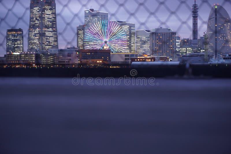 Vue de Yokohama photo libre de droits