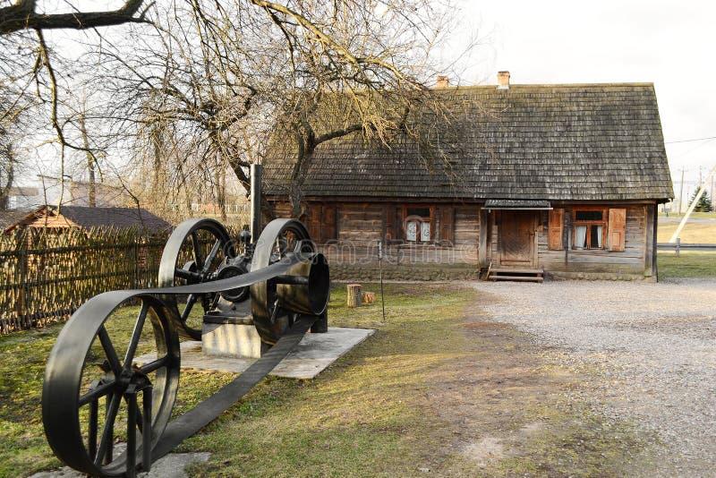 Vue de Zaslavl, Belarus. photographie stock libre de droits