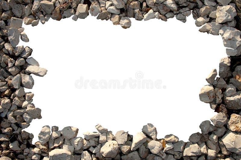 Vue des cailloux image libre de droits
