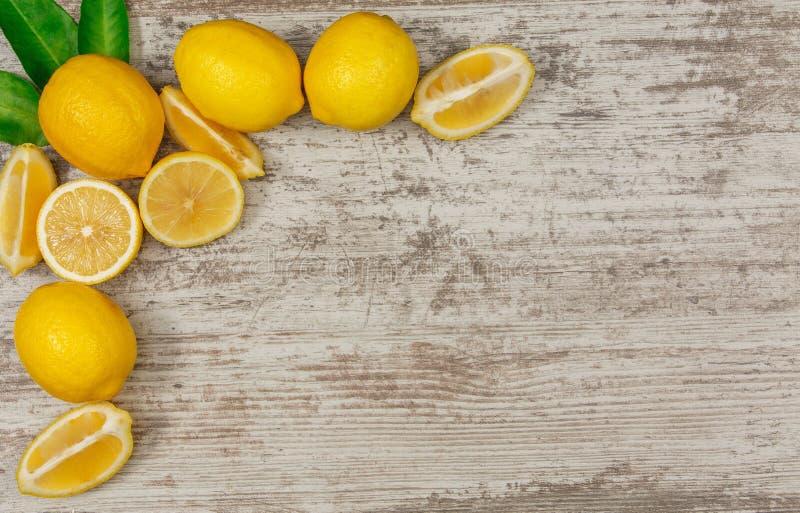 Vue des citrons photographie stock libre de droits