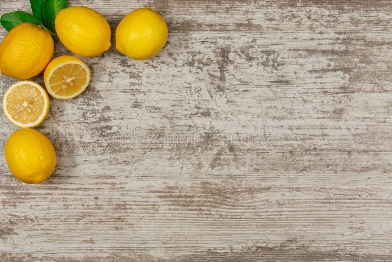 Vue des citrons photos libres de droits