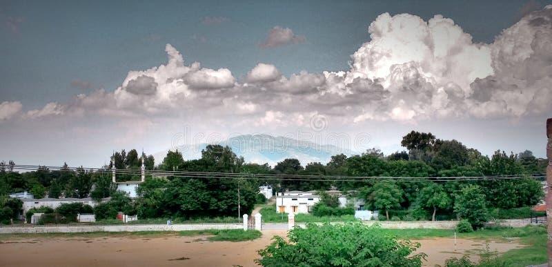 Vue des collines de margella photographie stock