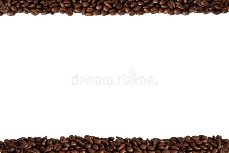Vue des grains de café image libre de droits