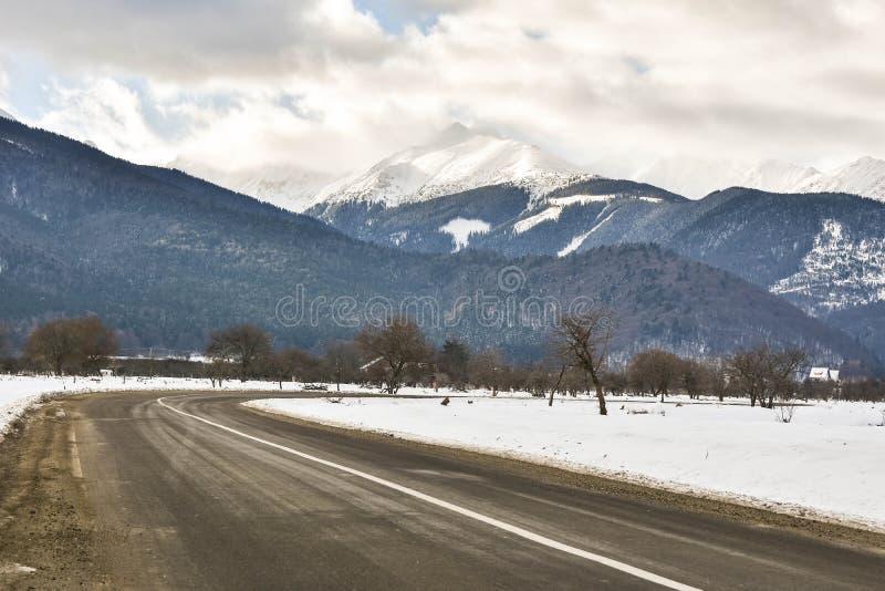 Vue des montagnes photo stock