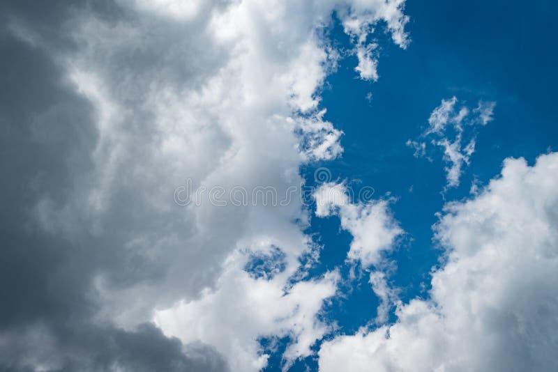 Vue des nuages d'Adam Lookout photo libre de droits