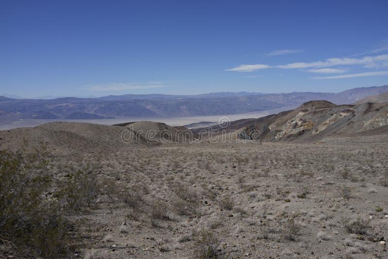 Vue des ressorts de Panamint images stock
