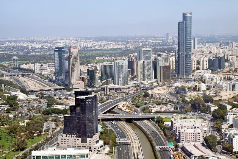 Vue des tailles de Diamond Exchange dans Ramat Gan, Isra image libre de droits