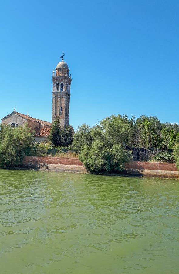 vue du bateau vers Venise photos stock