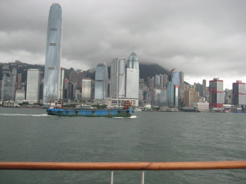 Vue du bord de mer, Tsim Sha Tsui, Kowloon, Hong Kong photo libre de droits
